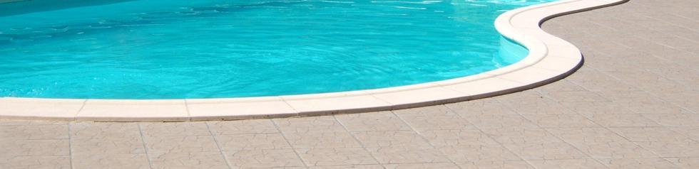 Enduit de finition souple et étanche pour piscine.